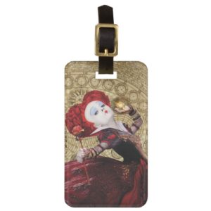 The Red Queen   Adventures in Wonderland 2 Bag Tag