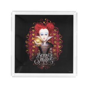 The Red Queen | Beyond the Mirror Acrylic Tray