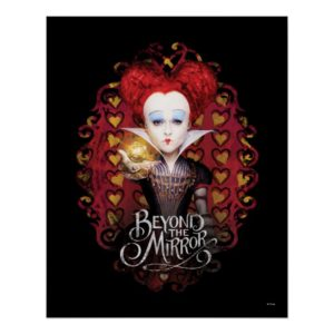 The Red Queen   Beyond the Mirror Poster