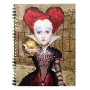 The Red Queen   Don't be Late Notebook
