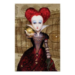 The Red Queen | Don't be Late Poster