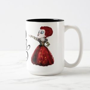 The Red Queen | Off with his Head 2 Two-Tone Coffee Mug