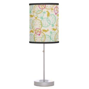 The White Rabbit Pattern Table Lamp