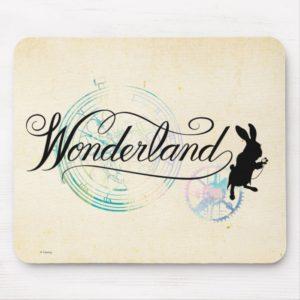 The White Rabbit   Wonderland 2 Mouse Pad