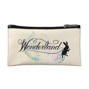 The White Rabbit | Wonderland Cosmetic Bag