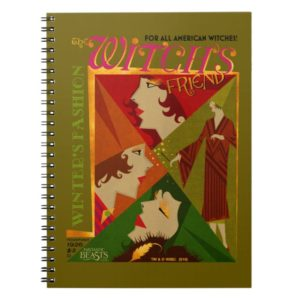 The Witch's Friend November Magazine Notebook