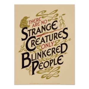 There Are No Strange Creatures Poster