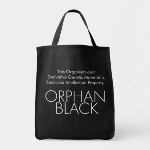 This Organism is Restricted Property- Orphan Black Tote Bag