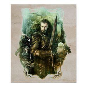 THORIN OAKENSHIELD™, Dwalin, & Balin Graphic Poster