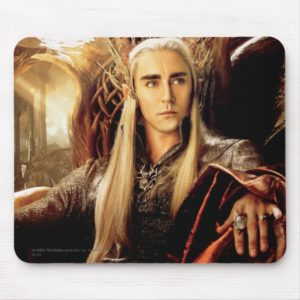 Thranduil Movie Poster Mouse Pad