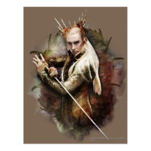 Thranduil With Sword Postcard