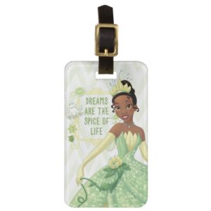 Tiana - Dreams Are The Spice Of Life Luggage Tag