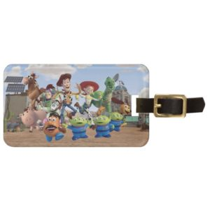 Toy Story 3 Squad Bag Tag