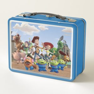 Toy Story 3 Squad Metal Lunch Box