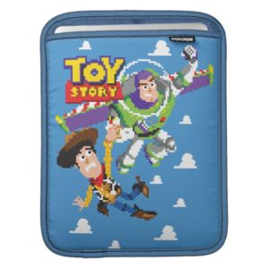 Toy Story 8Bit Woody and Buzz Lightyear iPad Sleeve