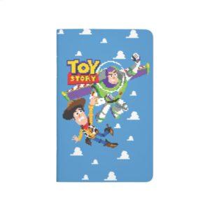 Toy Story 8Bit Woody and Buzz Lightyear Journal
