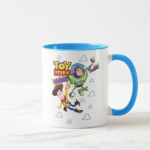 Toy Story 8Bit Woody and Buzz Lightyear Mug