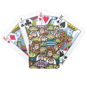 Toy Story | Cute Toy Pattern Bicycle Playing Cards