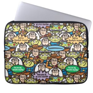 Toy Story | Cute Toy Pattern Computer Sleeve