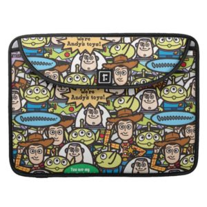 Toy Story | Cute Toy Pattern Sleeve For MacBooks