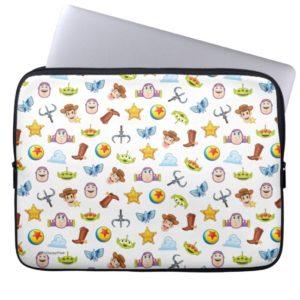 Toy Story Emoji Pattern Laptop Sleeve