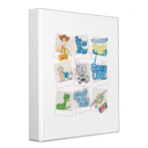 Toy Story Picture Collage 3 Ring Binder