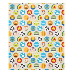 Toy Story | Toy Icon Pattern Fleece Blanket