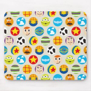 Toy Story   Toy Icon Pattern Mouse Pad
