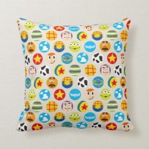 Toy Story | Toy Icon Pattern Throw Pillow