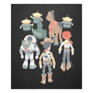 Toy Story | Toy Story Friends Turn 6 Fleece Blanket