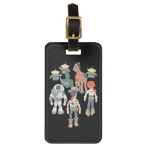 Toy Story   Toy Story Friends Turn Luggage Tag