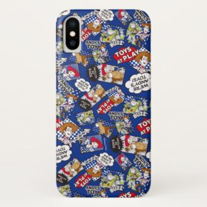 Toy Story | Toys at Play Comic Pattern Case-Mate iPhone Case