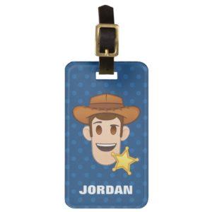 Toy Story | Woody Emoji Luggage Tag