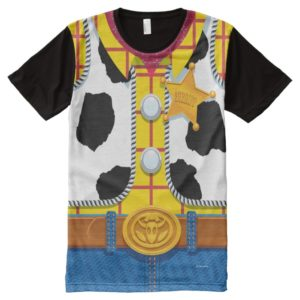 Toy Story | Woody's Sheriff Outfit All-Over-Print Shirt