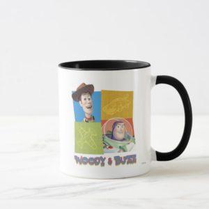 Toy Story's Buzz Lightyear and Woody Logo Mug