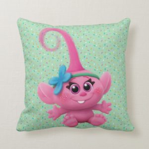 Trolls | Baby Poppy Throw Pillow