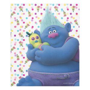 Trolls   Biggie & Mr. Dinkles Fleece Blanket