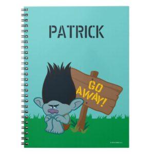 Trolls | Branch - Go Away Notebook