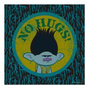 Trolls   Branch - No Hugs! 2 Poster