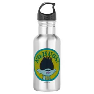 Trolls | Branch - No Hugs! Stainless Steel Water Bottle