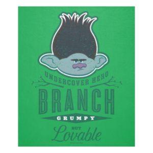 Trolls   Branch - Undercover Hero Fleece Blanket
