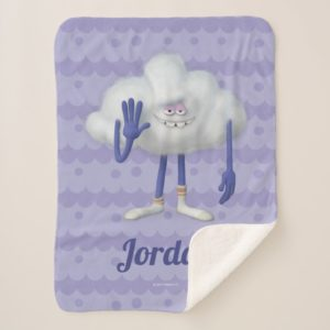 Trolls | Cloud Guy | Add Your Name Sherpa Blanket