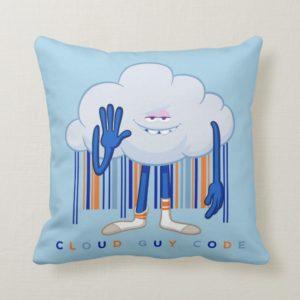 Trolls| Cloud Guy Code Throw Pillow