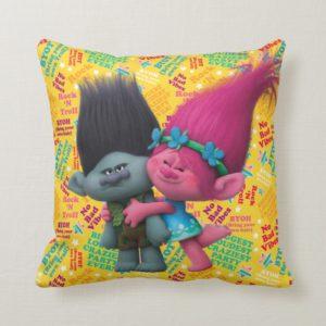 Trolls | Poppy & Branch - No Bad Vibes Throw Pillow
