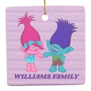 Trolls | Poppy & Branch - Rock 'N Troll Ceramic Ornament