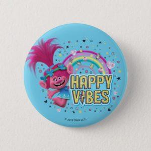 Trolls | Poppy Happy Vibes Button