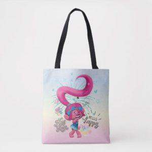 Trolls   Poppy Hello Happy Tote Bag