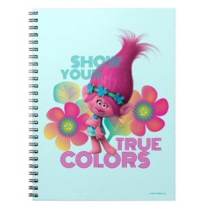 Trolls | Poppy - Show Your True Colors Notebook