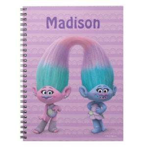 Trolls   Satin & Chenille Notebook