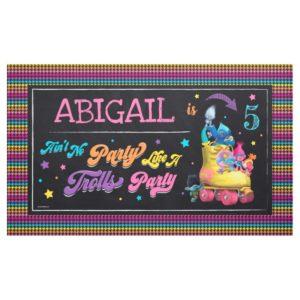 Trolls Snack Pack Birthday Banner